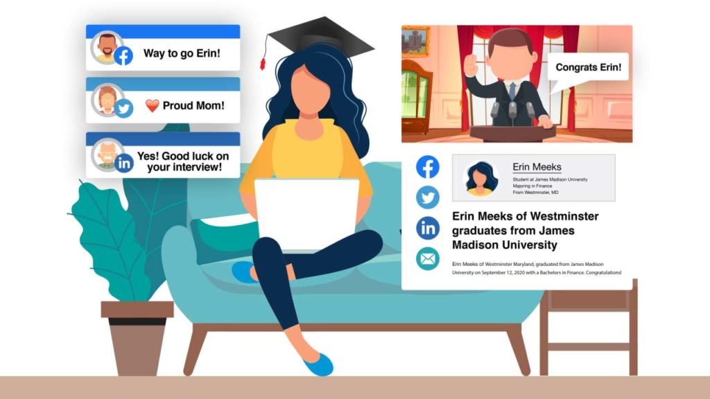 Merit - At Home Graduation Facebook AD