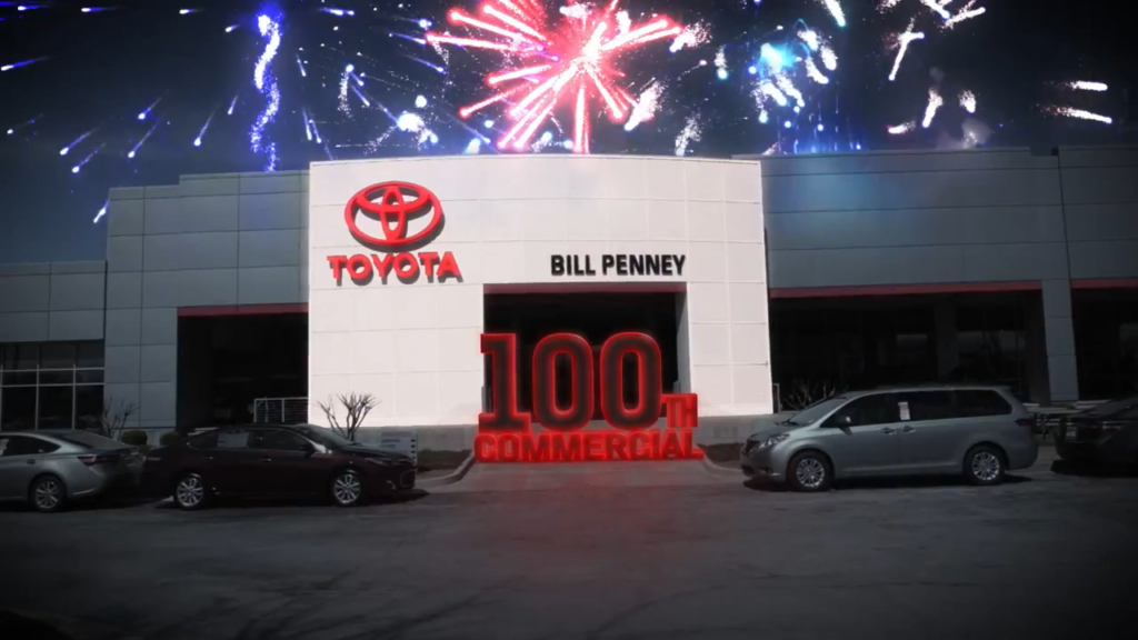 Bill Penney Toyota - 100th Commercial