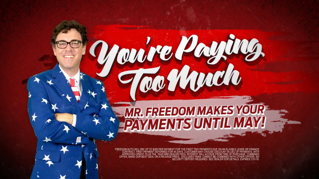 No Payments 'Til May - Freedom Auto Group