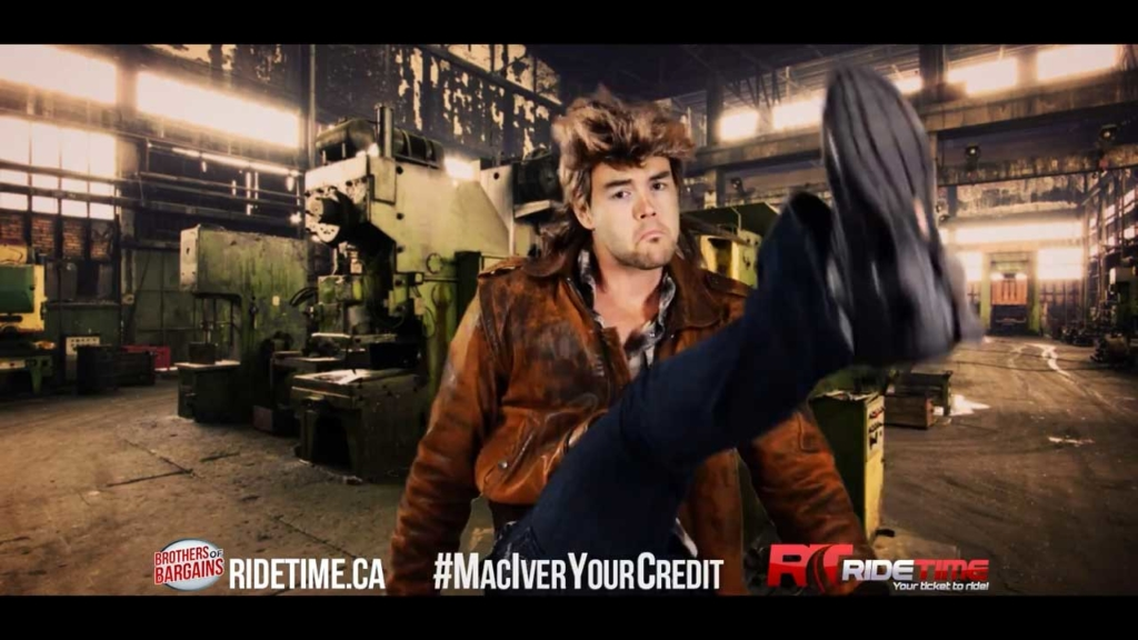 Ride Time - MacGyver Commercial