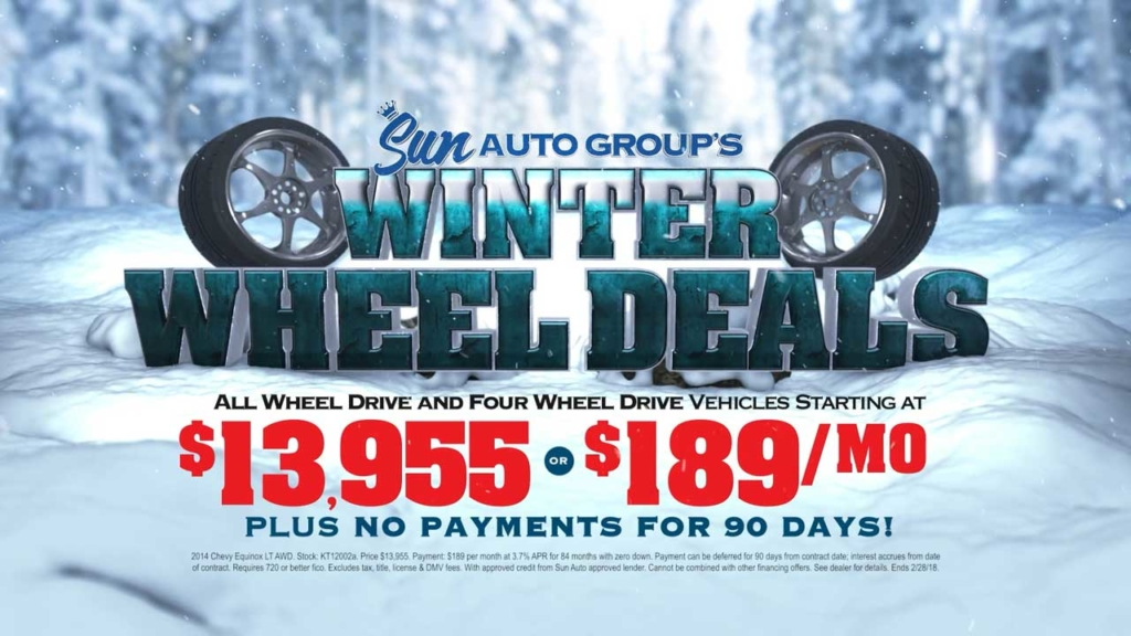 Sun Auto Winter Wheel Deals February 2018