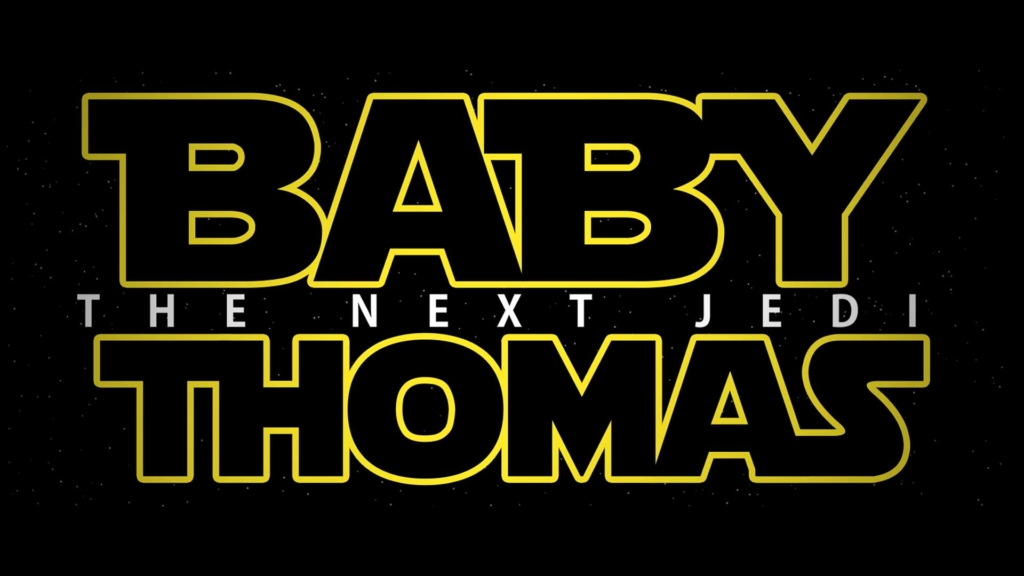 Star Wars Themed Baby Reveal